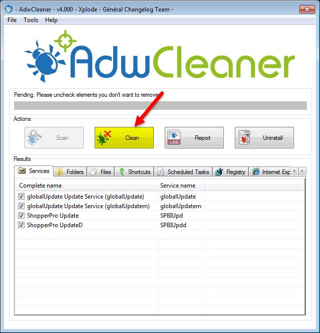 برنامج تنظيف وإزالة البرمجيات الخبيثة والضارة AdwCleaner 7.2.5.0 Adwcleaner-0023