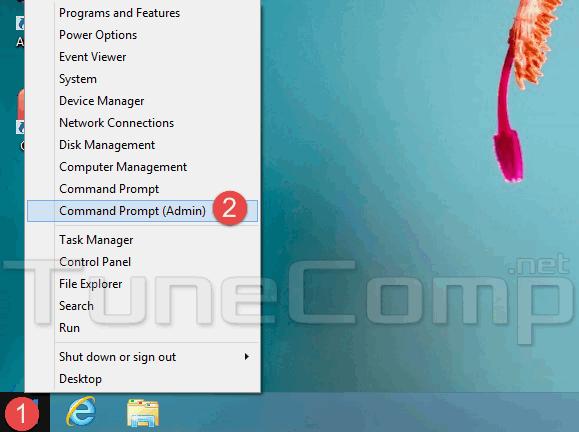 run command as administrator windows 8.1