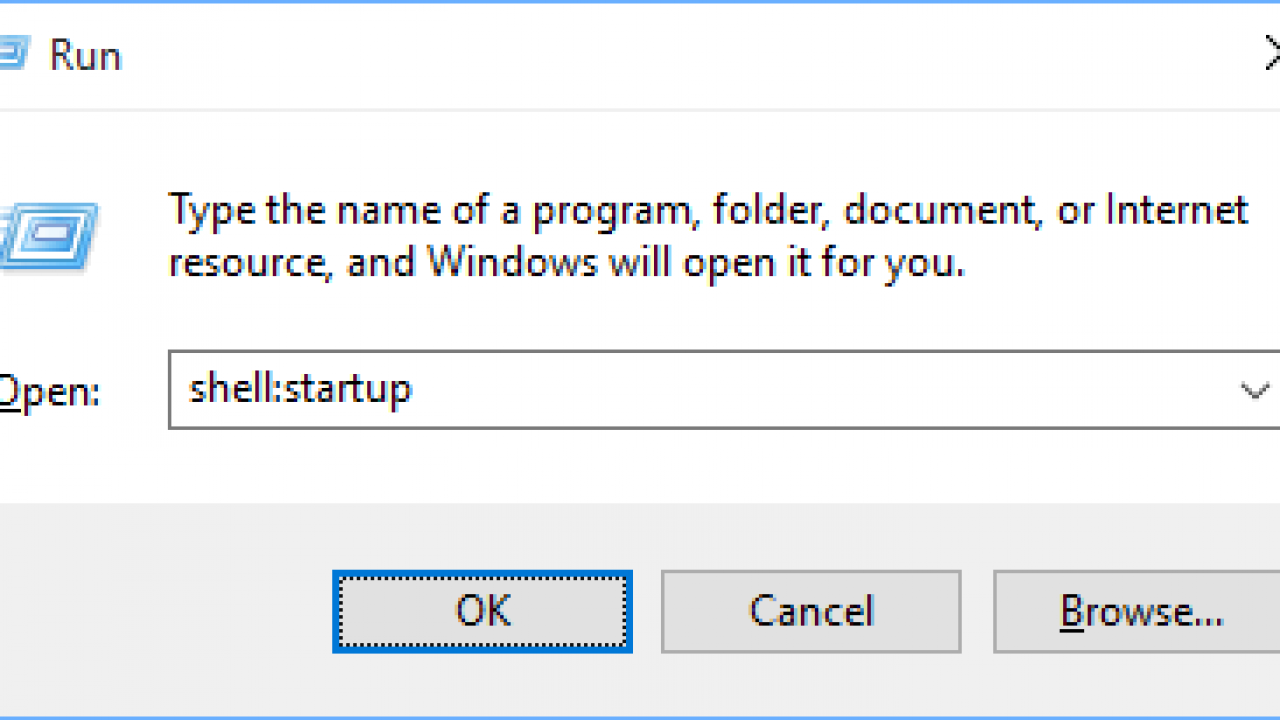 Windows 10 Startup Folder Location  Add A Program To Startup In