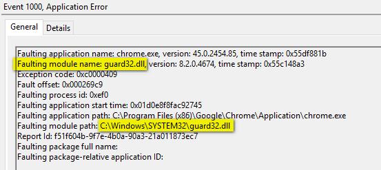 chrome-error-log