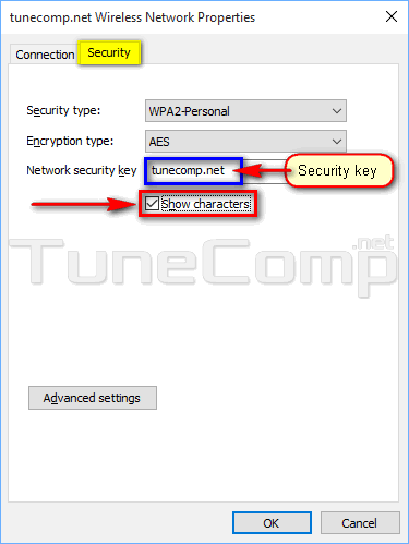 How to view Wi-Fi password (network security key) in Windows 10