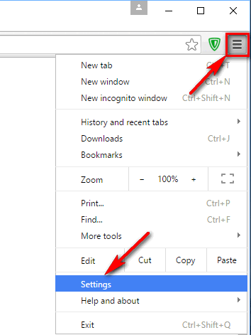 How to reset Google Chrome to default settings