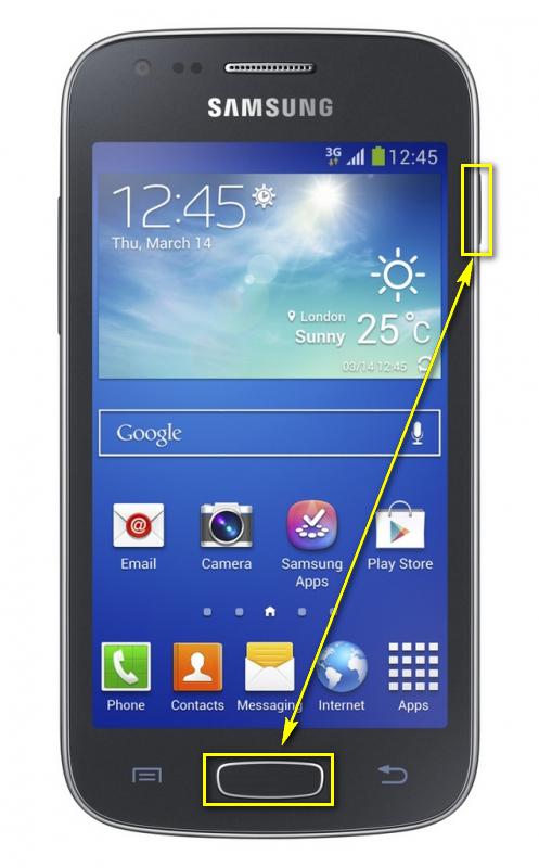 Samsung Galaxy Ace III GT-S7270