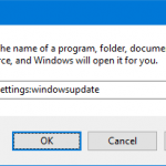 ms:settings commands in Windows 10
