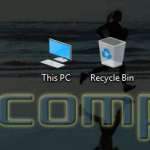 How to add Computer (This PC) and Recycle bin icons to desktop in Windows 10