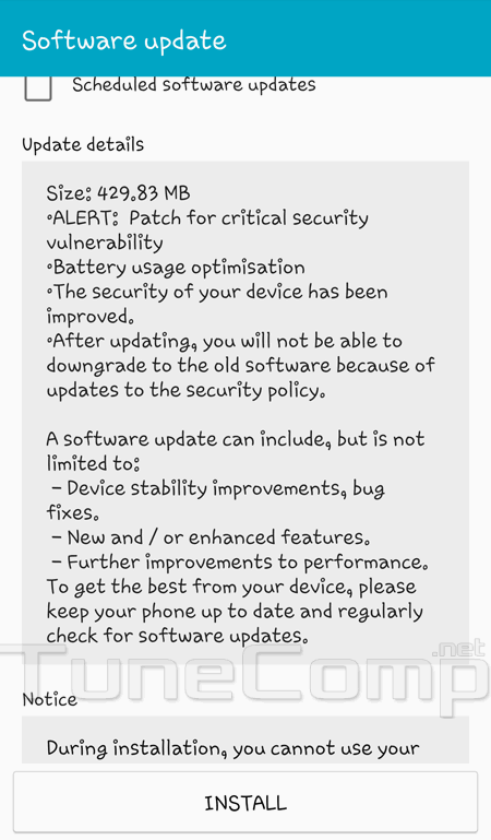 Samsung Galaxy S4 got an update for Android 5 0 1