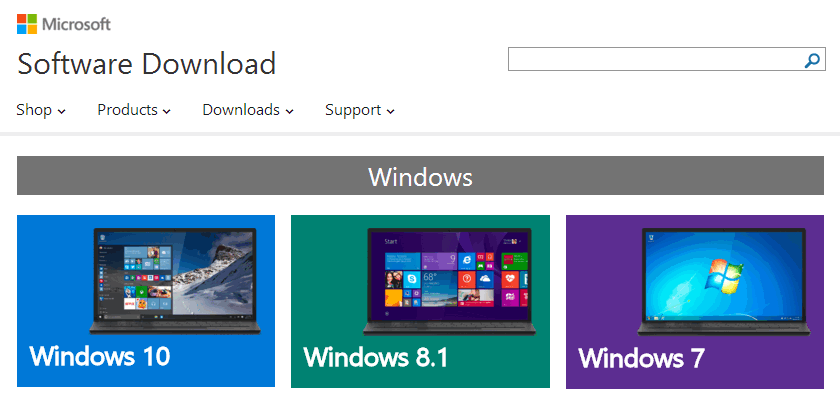 download Windows 10 ISO image