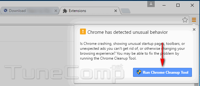 chrome-has-detected-unusual-behavior