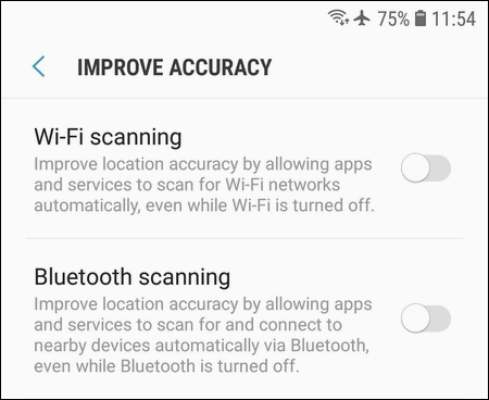 Improve Accuracy Galaxy S7
