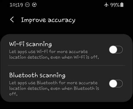 Improve Accuracy OneUI 2.1