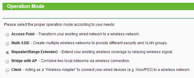 ap-modes