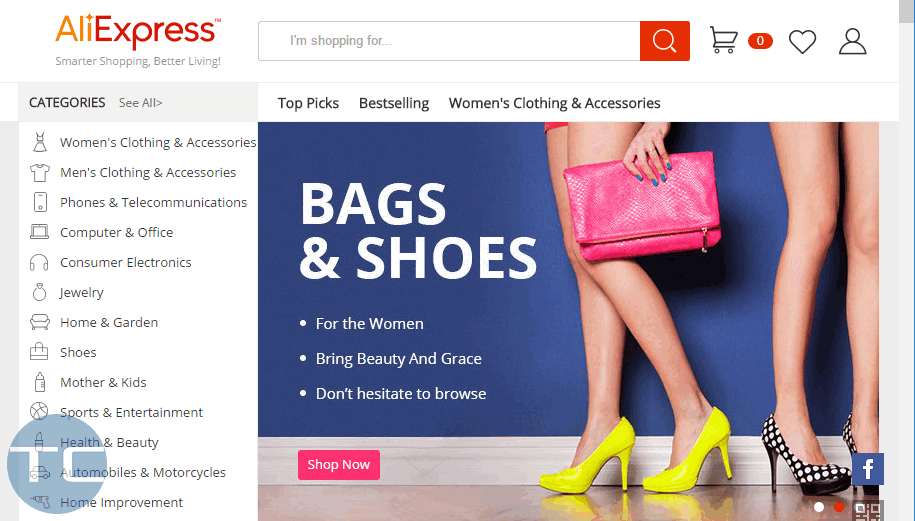 how to remove aliexpress (best.aliexpress.com)