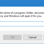 Different ways to open Run command box in Windows 10