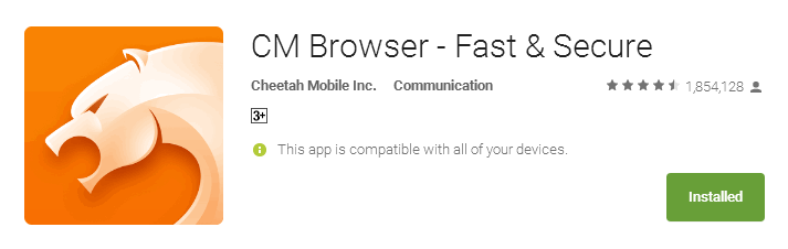 Fast Browser for Old Android Device