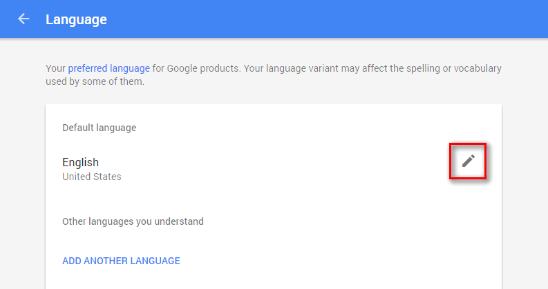 google account language 6