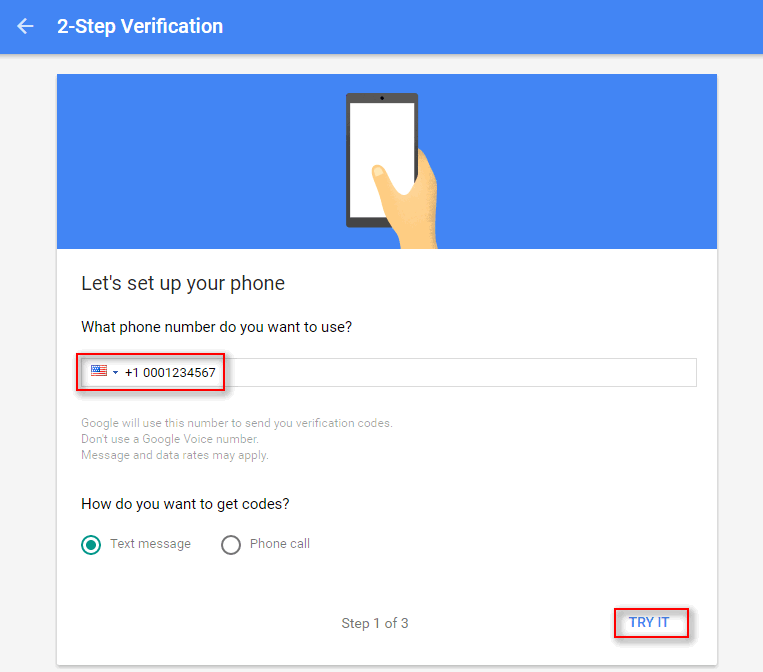How To Enable 2-Step Verification For Google Account