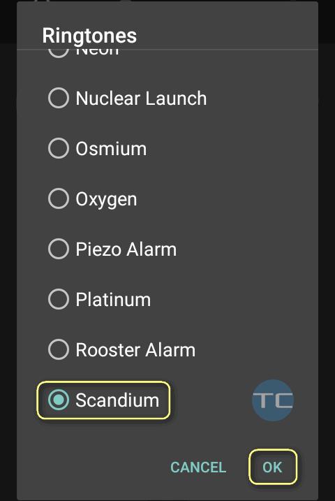 05 change alarm ringtone on android 7