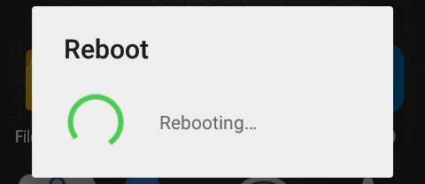 android 5 rebooting