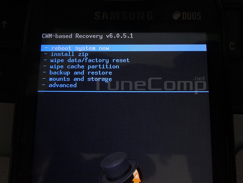 Backup data recovery mode