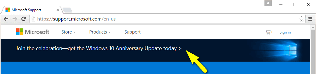 join the celebration - get the Windows 10 Anniversary Update today