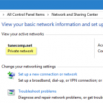 How to change public network to private in Windows 10