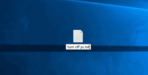 rename file extension