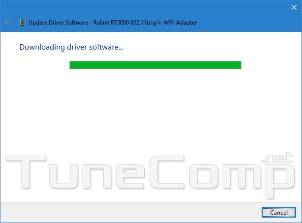 wifi no internet new driver installation