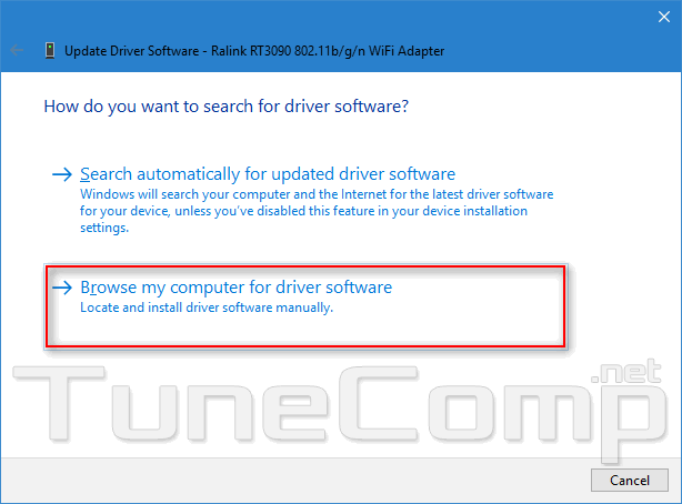 wifi no internet driver update 5