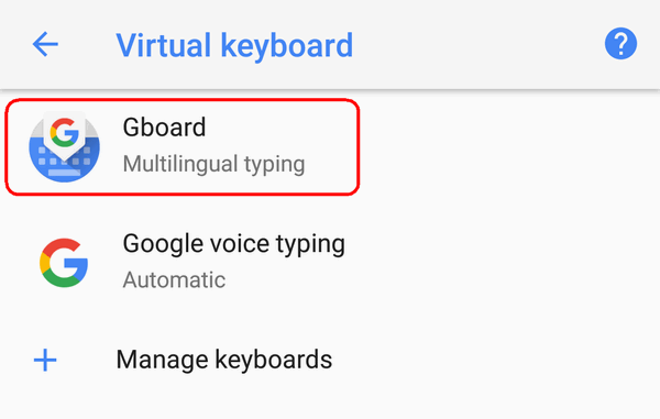 How to Add Another Input Language on Android 9, 8, 7, 6 or Remove