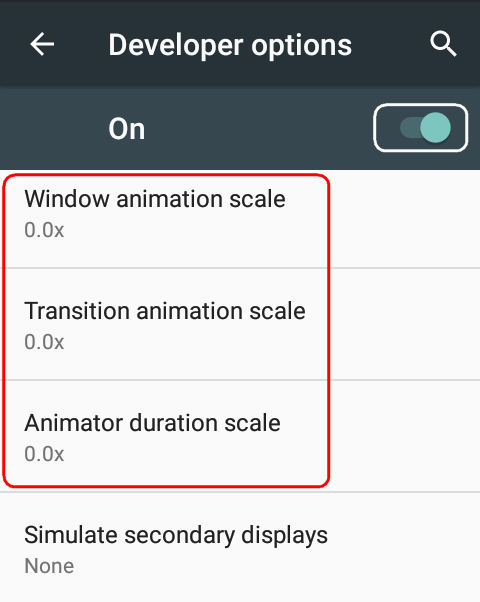 disable-visual-effects-on-android
