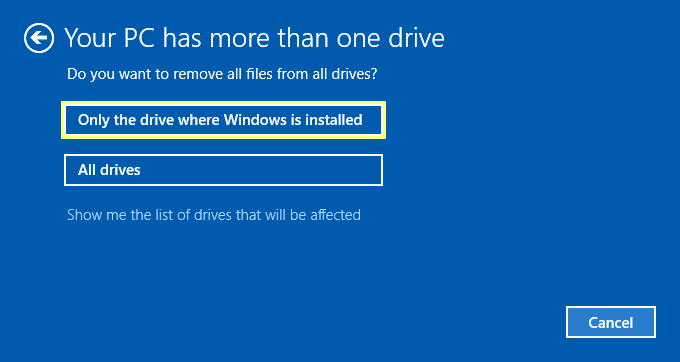 reset-windows-10-only-the-drive-where-windows-is-installed