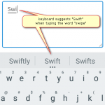 How to prevent Android keyboard from suggesting words from your contact list