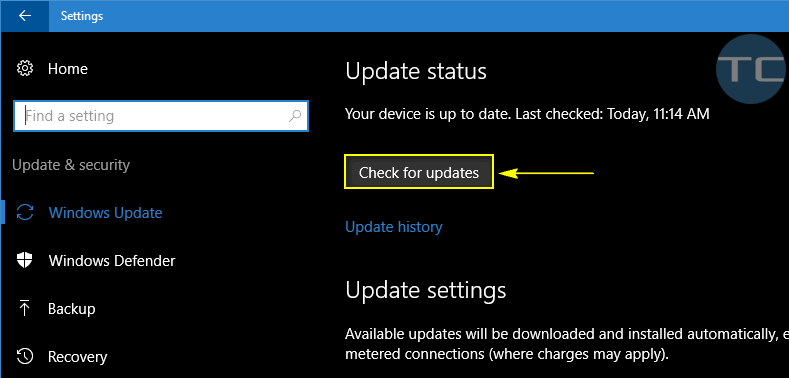 windows home button not working