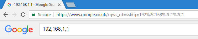192,168,1,1 google