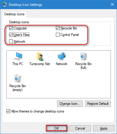 Desktop Icons Disappeared on Windows 10  How to restore them?