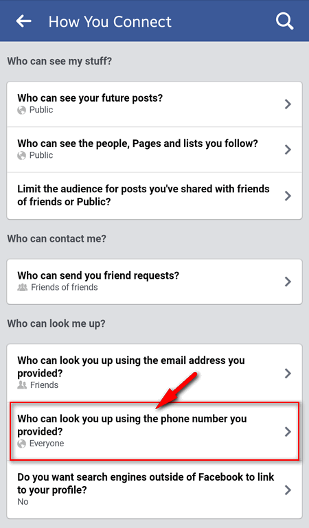 How to hide your phone number on Facebook  Prevent your Facebook