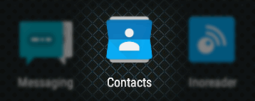 contacts app on android