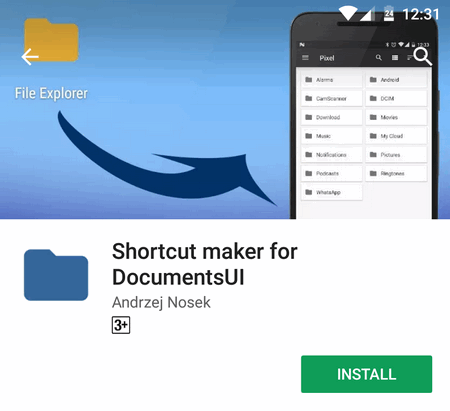 install shortcut maker app