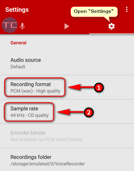 set up stereo audio recording on Google Pixel
