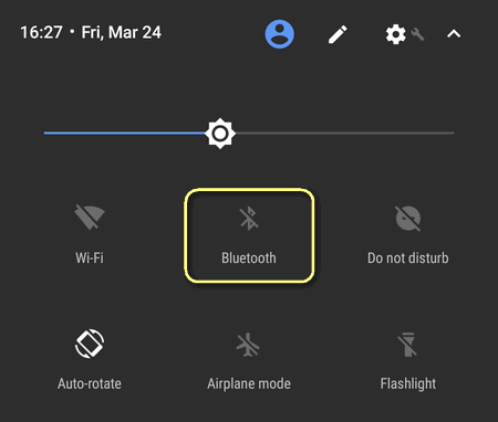 How to receive a file via Bluetooth on Google Pixel  Bluetooth