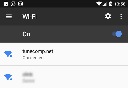 connect Android device to Windows 10 mobile hotspot