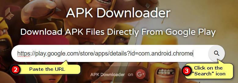 apk-dl.com search for app