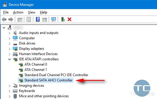 SATA Controller AHCI Mode