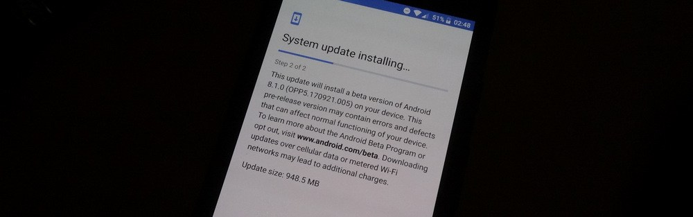 install Android 8.1.0 beta Pixel