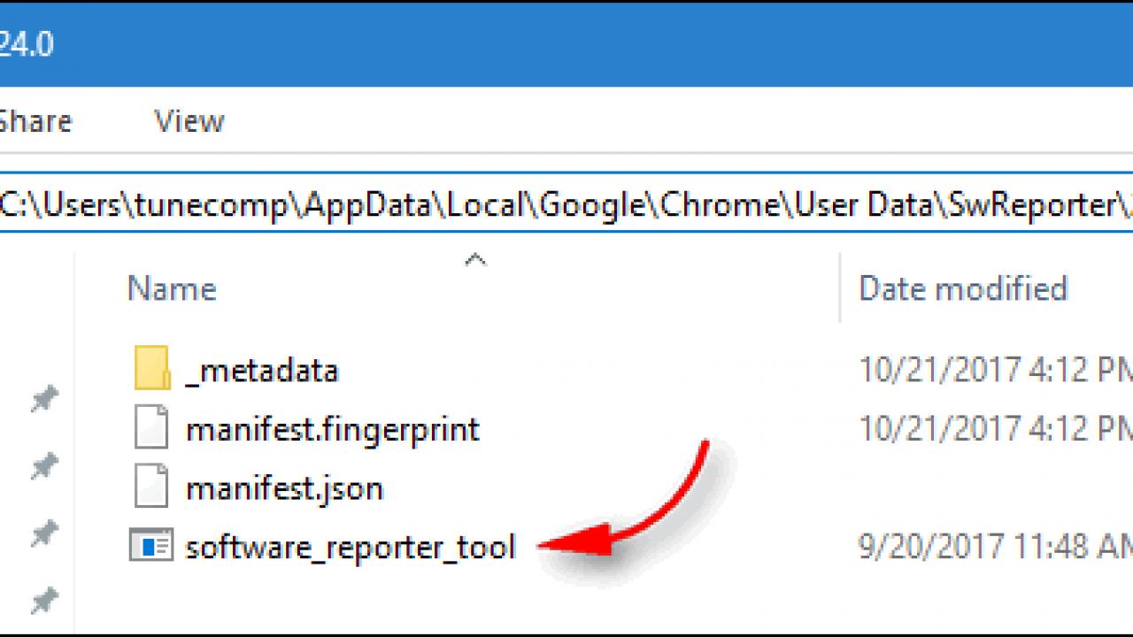 Software Reporter Tool - Fix High CPU Usage