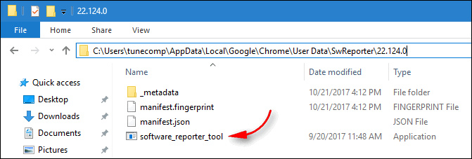 Software Reporter Tool (exe)