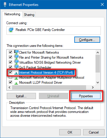 Fix ERR_CONNECTION_REFUSED in Chrome on Android or Windows 10