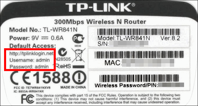 tplinklogin.net, tplinkwifi.net: host of TP-LINK router