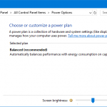 High Performance Power Plan missing Windows 10
