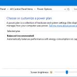 High Performance Power Plan missing Windows 10